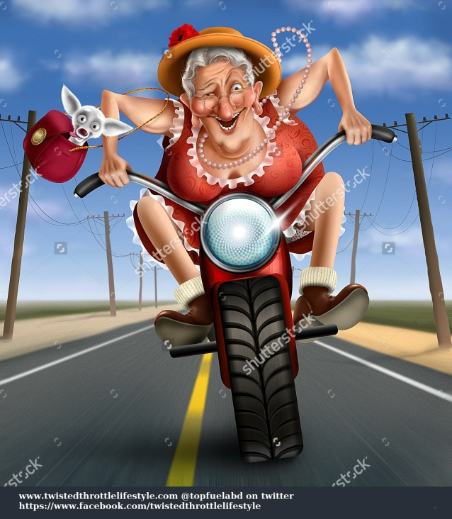 stock-photo-funny-mad-granny-on-a-bike-140407549