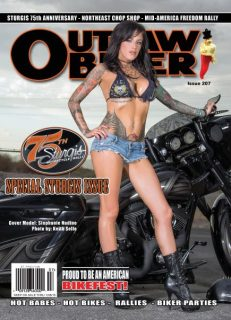 Outlaw Biker Magazine Insane Throttle Biker News