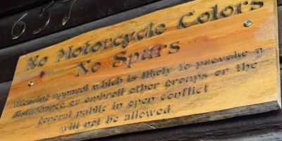 Deadwood No Motorcycle Club Colors Insane Throttle Biker News