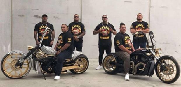 Comanchero gang from Australia Insane Throttle Biker News
