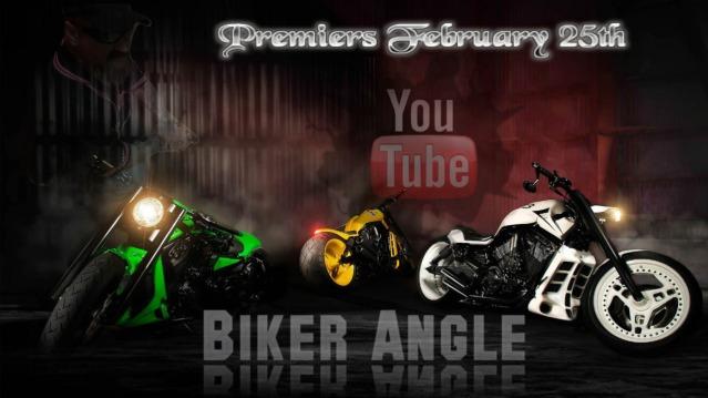 Biker Angle with James Hollywood Macecari on Youtube