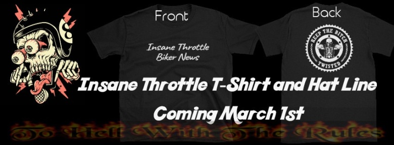Insane throttle tshirts and hats