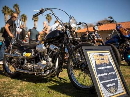 A 1950 Panhead chopper built by No School Choppers. Insane Throttle Biker News