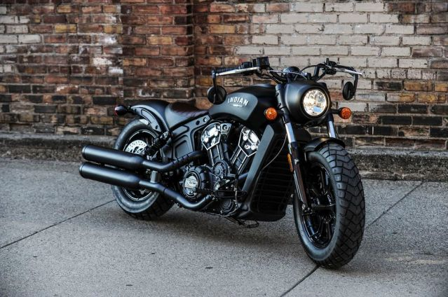indian scout boober