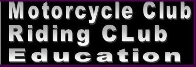 motorcycle club riding club education