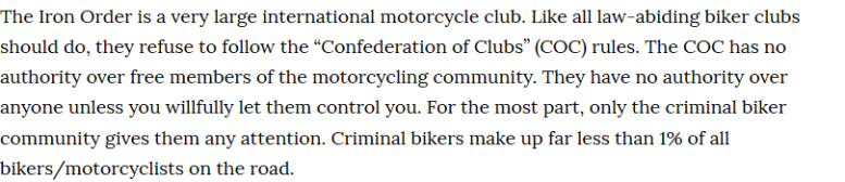 law abiding biker clubs insane throttle biker news