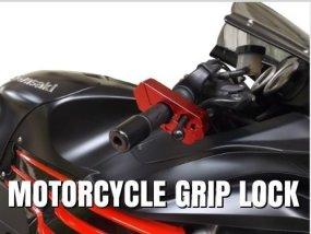 motorcycle grip lock