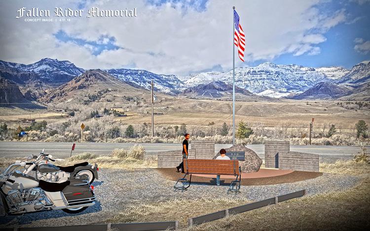 fallen rider memorial