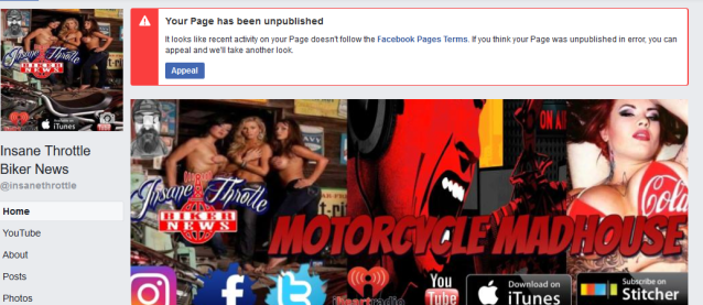 Facebook appeal