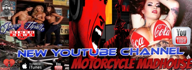Motorcycle Madhouse new youtube channel