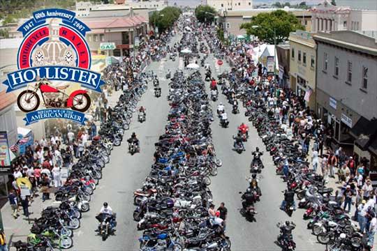 hollister biker rally
