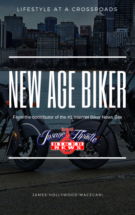 New Age Biker by James Hollywood Macecari