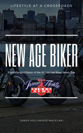 New Age Biker by James Hollywood Macecari
