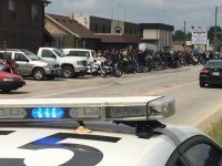 Standoff in Indy. Sons of Silience, Outlaws, Black Pistons Hells Angles