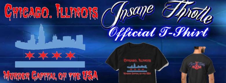 Insane Throttle Official T-Shirt