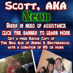Neon Fundraiser