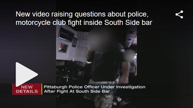 Pagans vs police brawl