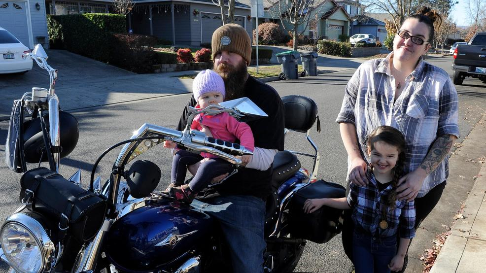 biker touched by kindness