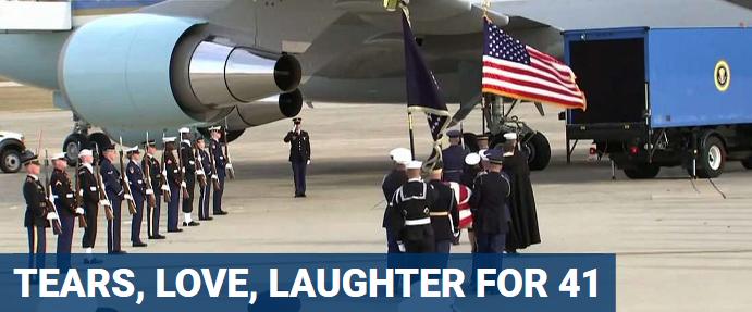 George HW Bush Air Force one