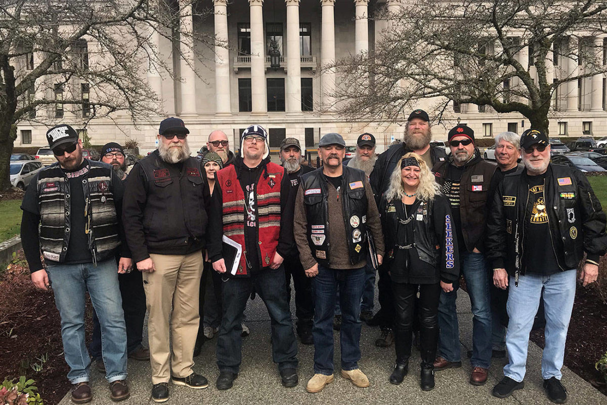 Washington motorcyclists rev support for anti-profiling law in Olympia