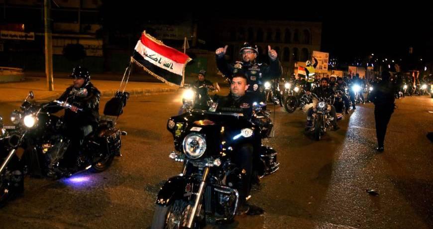 Bikers in Bagdad