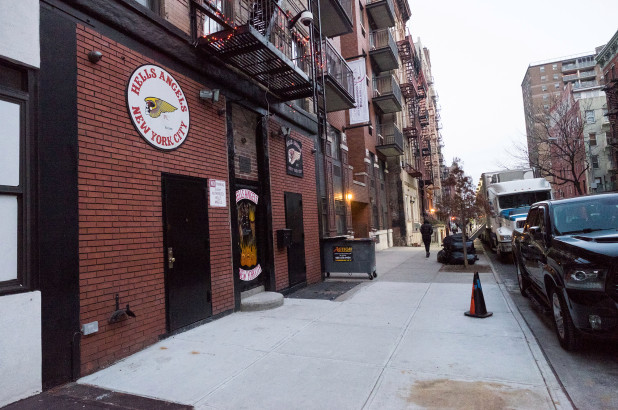 Deliveryman beaten after parking in front of Hells Angels