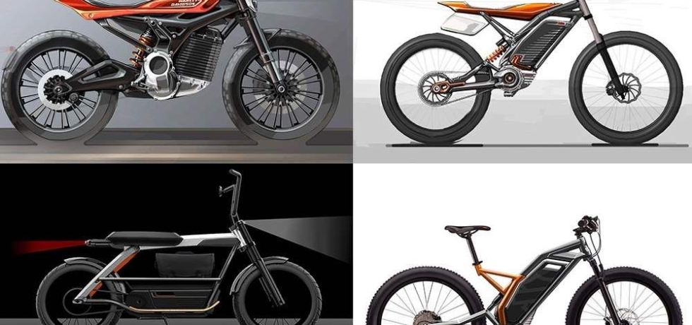 Harley Daivdson Electric Motorcycle Lineup