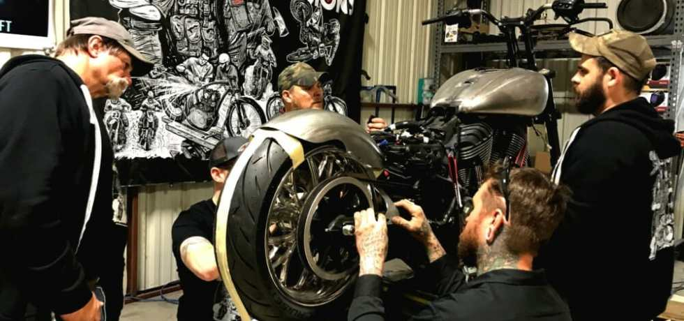 Indian Motorcycle and Motorcycle Missions Announce Texas-Sized Motorcycle Therapy Build-Off
