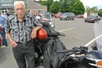 100 and still riding motorcycle