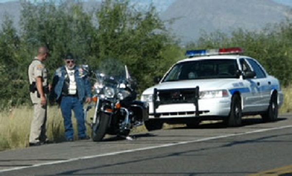 police profiling bikers
