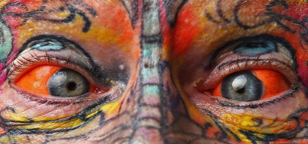 Washington state lawmakers looking to ban eyeball tattoos