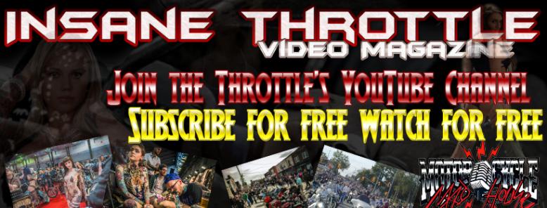 Insane Throttle YouTube Channel