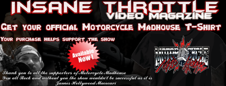 Motorcycle Madhouse TShirt