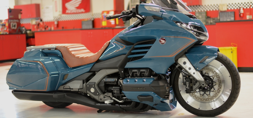The Cool Wing pays homage to the Gold Wing's past while still looking to the future.