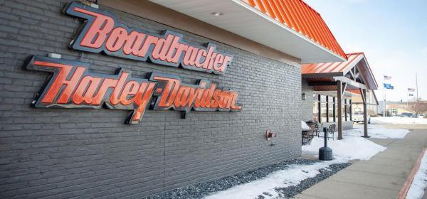 Boardtracker Harley Davidson