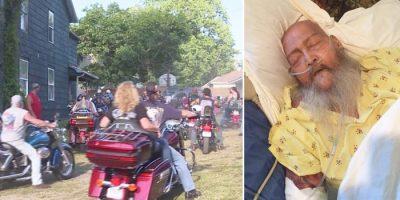 Biker News Man Dying wants harley