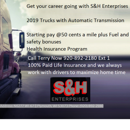 S&H Enterprise Trucking Company