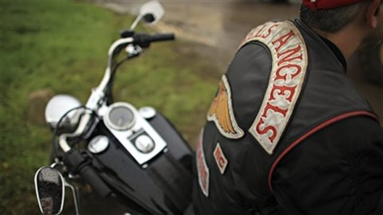 An Upstate woman said the visiting Hells Angels motorcycle club