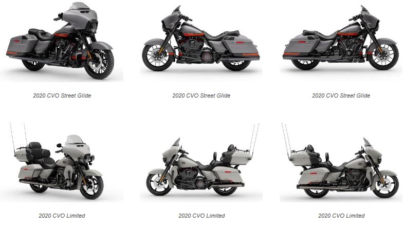 Harley Davidson 2020 Models