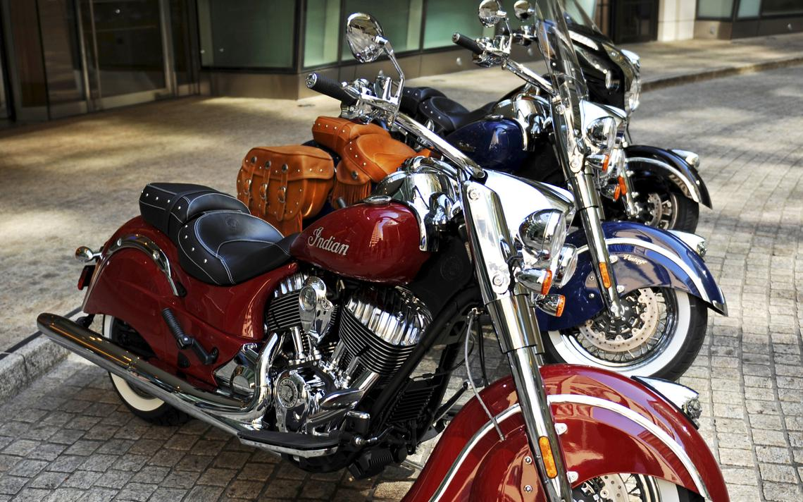 Indian Chief motorcycles