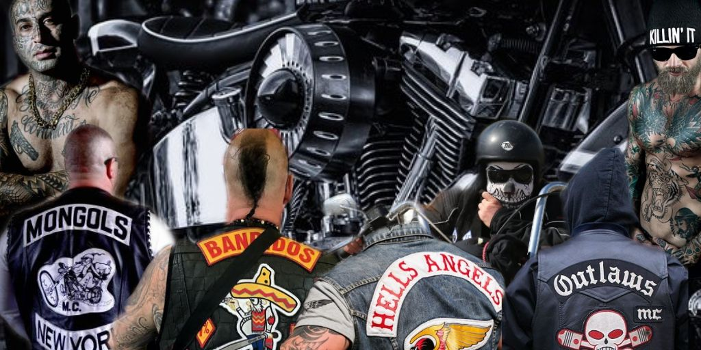 Hells Angels Bandidos MC Mongols MC Outlaws MC