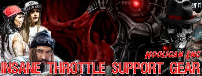 Official Insane Throttle Support Gear