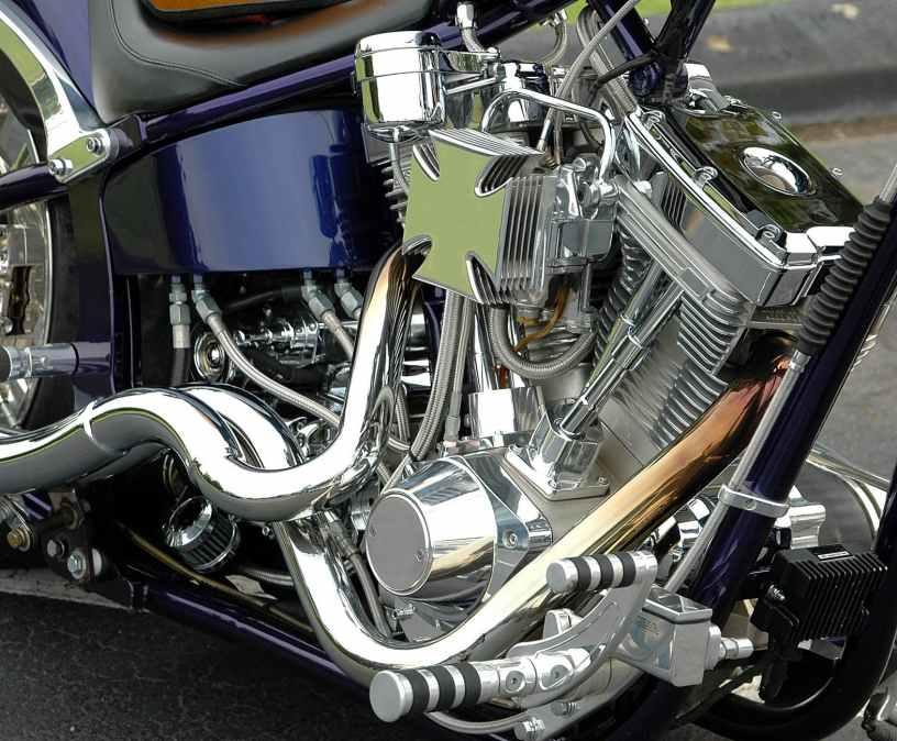 bike chrome clean design