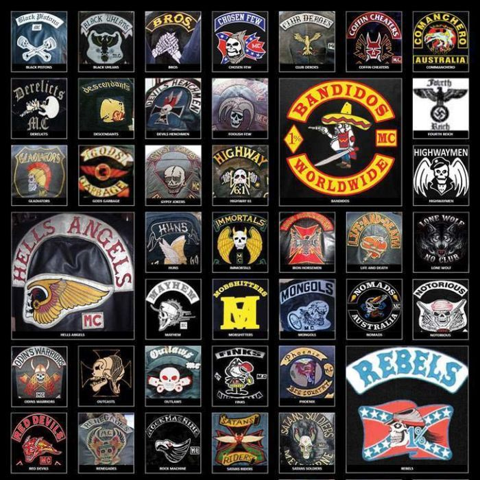 Biker Gangs Are Your One Percenters
