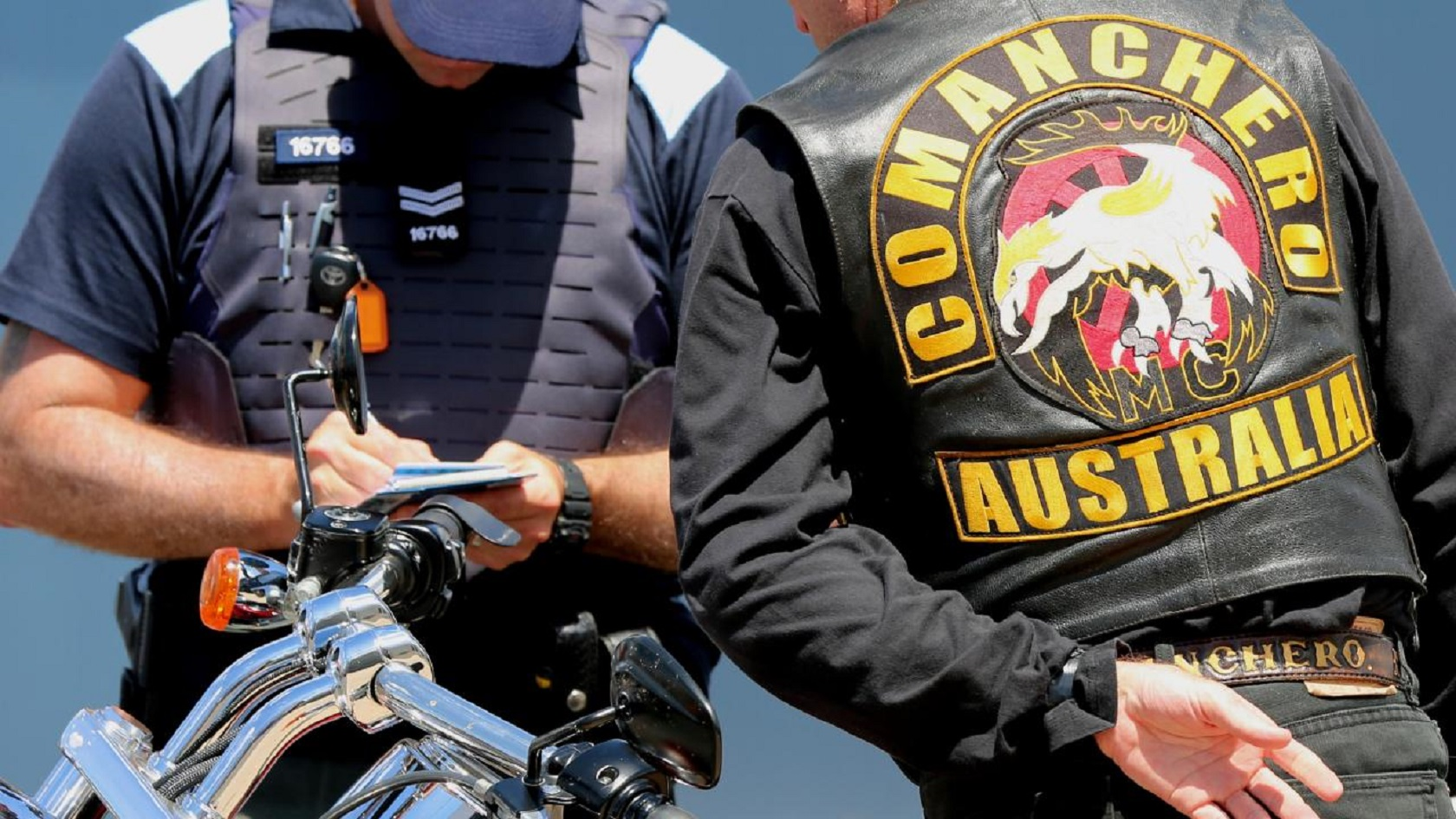 Comanchero bikie shot and killed in Sydney