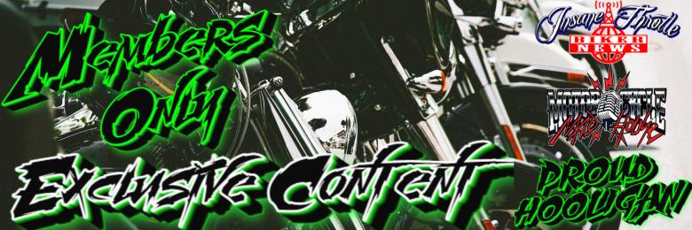 Members Only Insane Throttle Biker News
