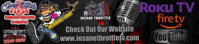 Insane Throttle TV Website